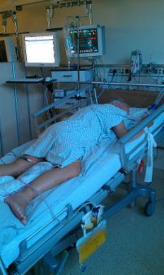patienten im künstlichen koma